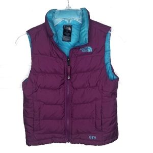 The North Face kids puffer vest